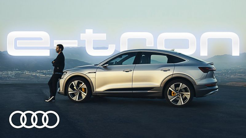 Der Audi e-tron Sportback in Rotterdam. What´s your passion?