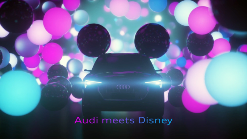 Audi Meets Disney For A Date At CES